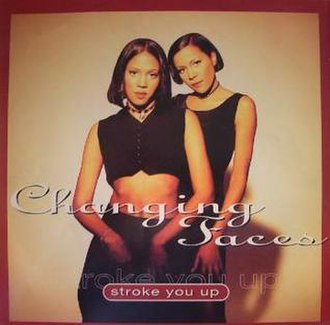 Stroke You Up - Image: Changing Faces Stroke You Up (single cover)