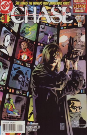 Chase (comics) - Image: Chase (DC Comics series) vol. 1 1 (Feb. 1998)
