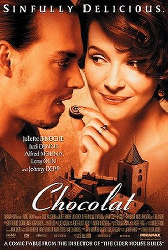 Chocolat (2000 film) - Theatrical release poster