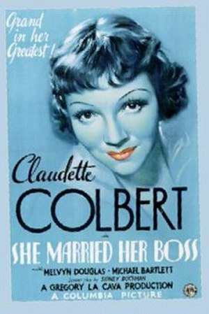 She Married Her Boss - Theatrical poster