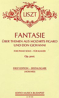 <i>Fantasy on Themes from Mozarts </i>Figaro<i> and </i>Don Giovanni