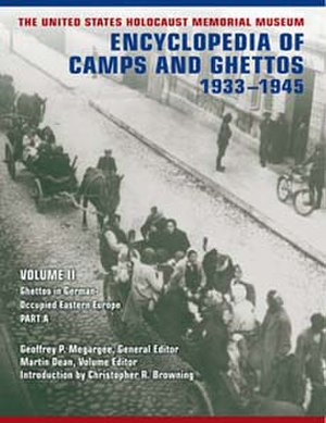 Encyclopedia of Camps and Ghettos, 1933–1945 - Cover art of Volume II of the Encyclopedia