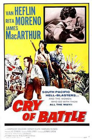 Cry of Battle - Original film poster