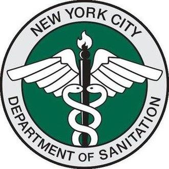 New York City Department of Sanitation - Image: DSNY logo 2016