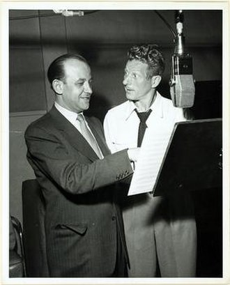 Kapp Records - David Kapp and Danny Kaye, 1947