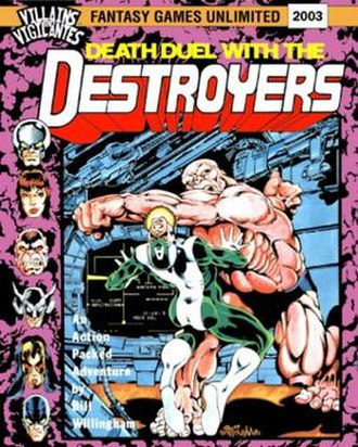 Death Duel with the Destroyers - Front cover