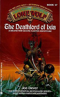 <i>The Deathlord of Ixia</i> book by Joe Dever