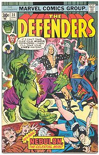 Cover to Defenders vol. 1 #34