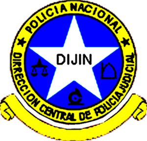 Directorate of Criminal Investigation and Interpol - Seal of the former DIJIN