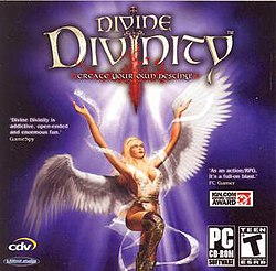 The CD insert for Divine Divinity.