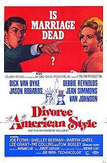 <i>Divorce American Style</i> 1967 film by Bud Yorkin