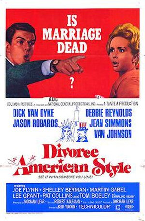 Divorce American Style - Theatrical poster