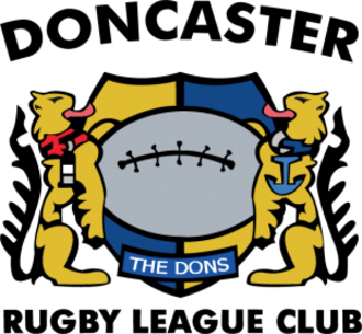 Doncaster R.L.F.C. - Image: Doncaster Rugby League Football Club logo