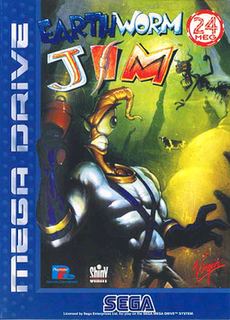 <i>Earthworm Jim</i> (video game) 1994 video game