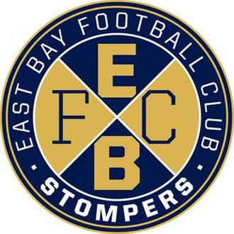 East Bay FC Stompers - Image: East Bay FC Stompers logo