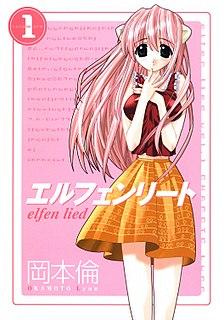 <i>Elfen Lied</i> 2004 manga series