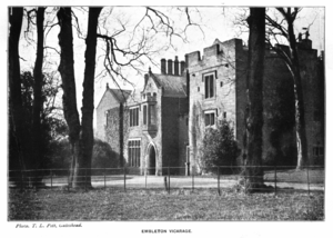 Peel tower - Embleton Tower (formerly Embleton Vicarage), late 19th century