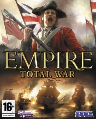 Empire: Total War - Image: Empire Total War cover art