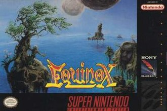 Equinox (1993 video game) - North American cover art
