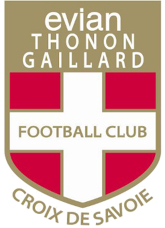 Thonon Évian F.C. - The badge of Évian Thonon Gaillard, 2009–16