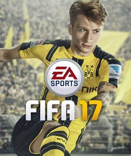 <i>FIFA 17</i> 2016 association football video game