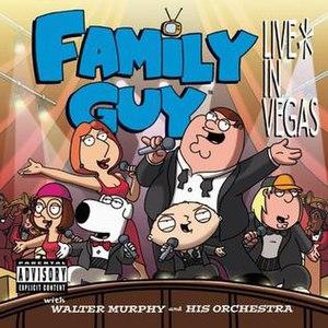 Family Guy: Live in Vegas - Image: Familyguyvegascover