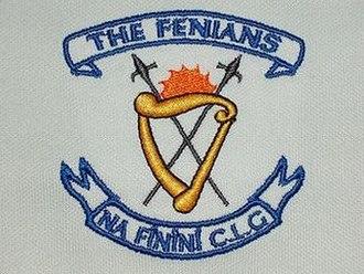 Fenians Johnstown GAA - Image: Fenians crest