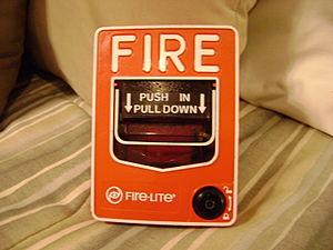 Fire-Lite Alarms - Image: Fire Lite BG 12L pull station