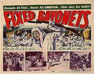 Fixed Bayonets! - Original film poster