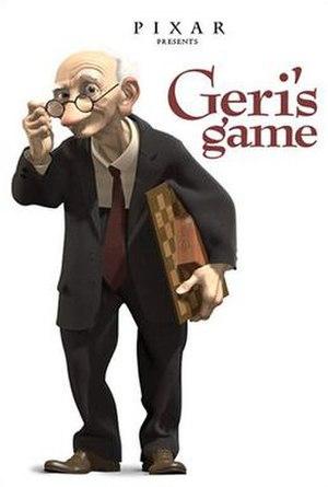 Geri's Game - Image: Geri's Game poster