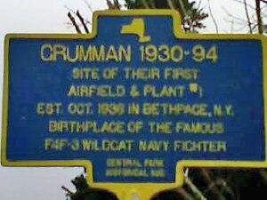 Grumman - Grumman Historical Marker