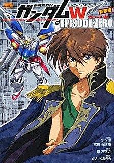 <i>Mobile Suit Gundam Wing: Episode Zero</i> Manga miniseries
