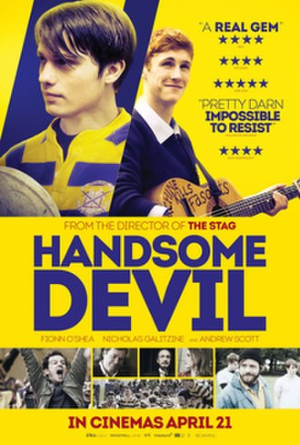 Handsome Devil (film) - Theatrical release poster