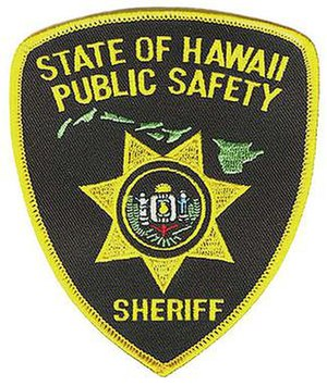 Hawaii Department of Public Safety - Hawaii Sheriff's Patch