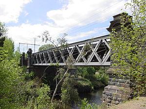 George Cornwell - Hawthorn Railway Bridge, Melbourne, built by George Cornwell