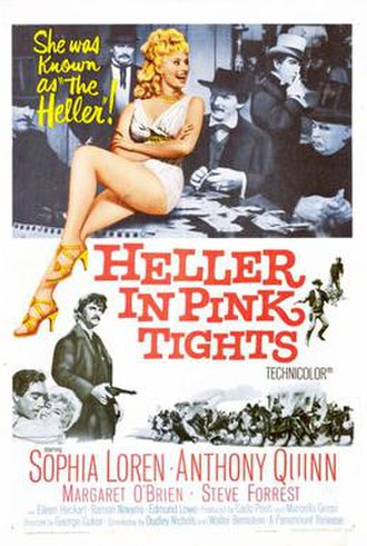Heller in Pink Tights - Film poster