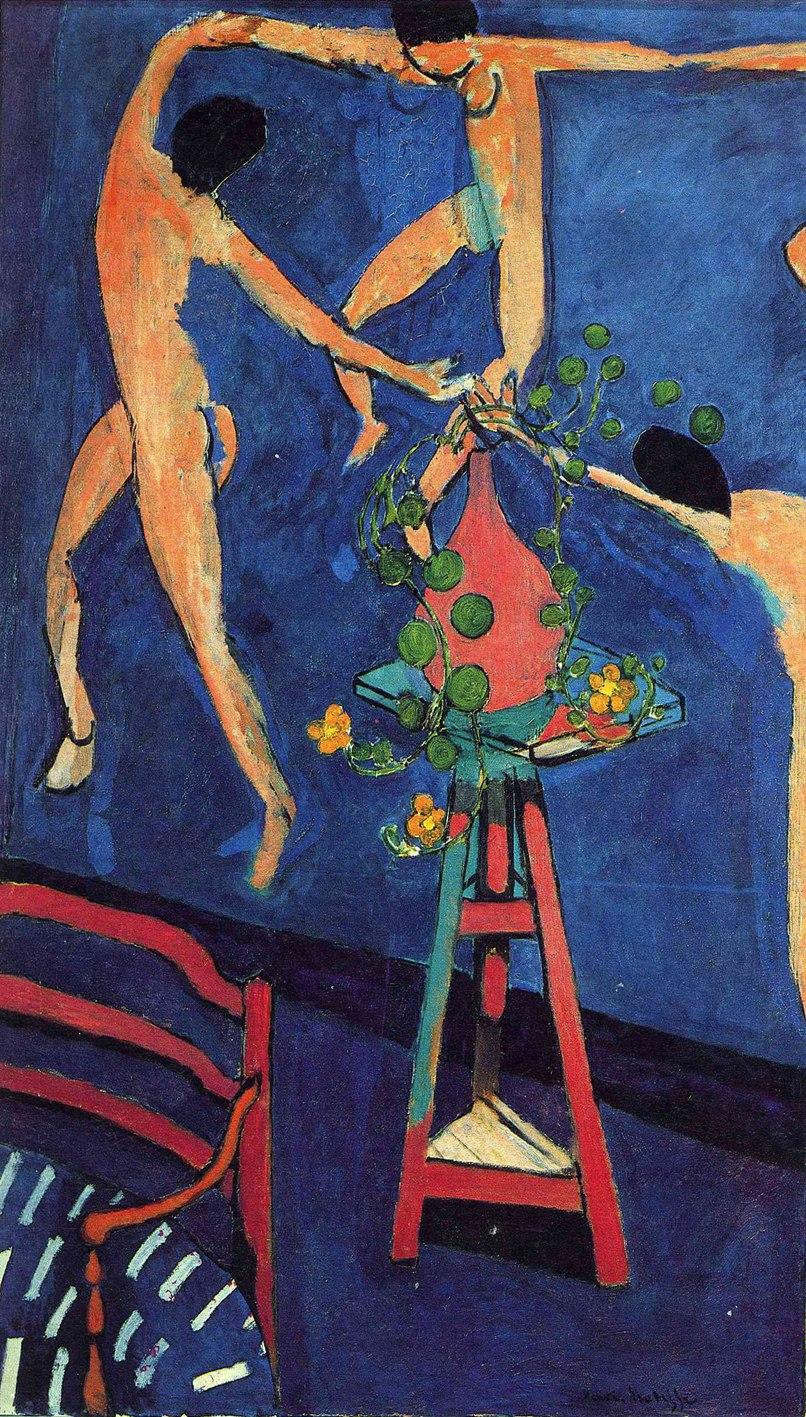 Henri Matisse, 1910-12, Les Capucines (Nasturtiums with The Dance II), oil on canvas, 193 x 114 cm, Pushkin Museum