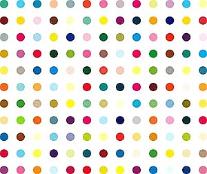 LSD by Damien Hirst