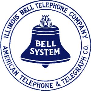 Illinois Bell - Illinois Bell Bell logo, 1921-1939