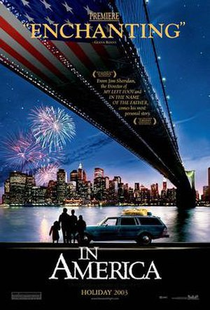 In America (film) - Theatrical release poster