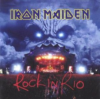 Rock in Rio (album) - Image: Ironmaidenrockinrio