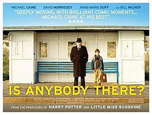 Is Anybody There? - United Kingdom theatrical poster