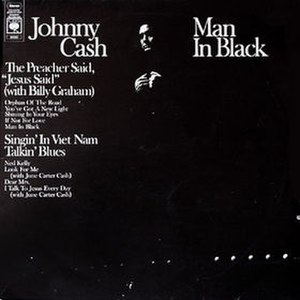 Man in Black (album) - Image: Johnny Cash Man In Black