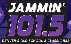KJHM - Image: KJHM Jammin 101.5 logo