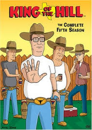 King of the Hill (season 5) - DVD cover