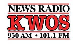 KWOS - Image: KWOS 950 101.1newsradio logo