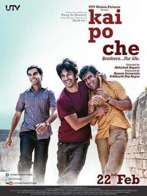 Kai Po Che! - Theatrical release poster