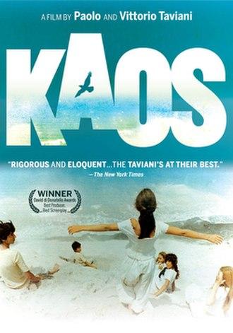 Kaos (film) - Film poster