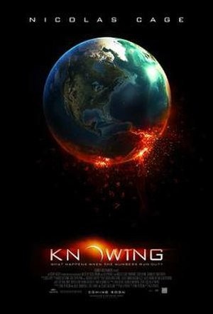 Knowing (film) - Theatrical release poster