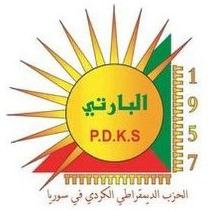 Kurdistan Democratic Party of Syria - Image: Kurdistan Democratic Party of Syria